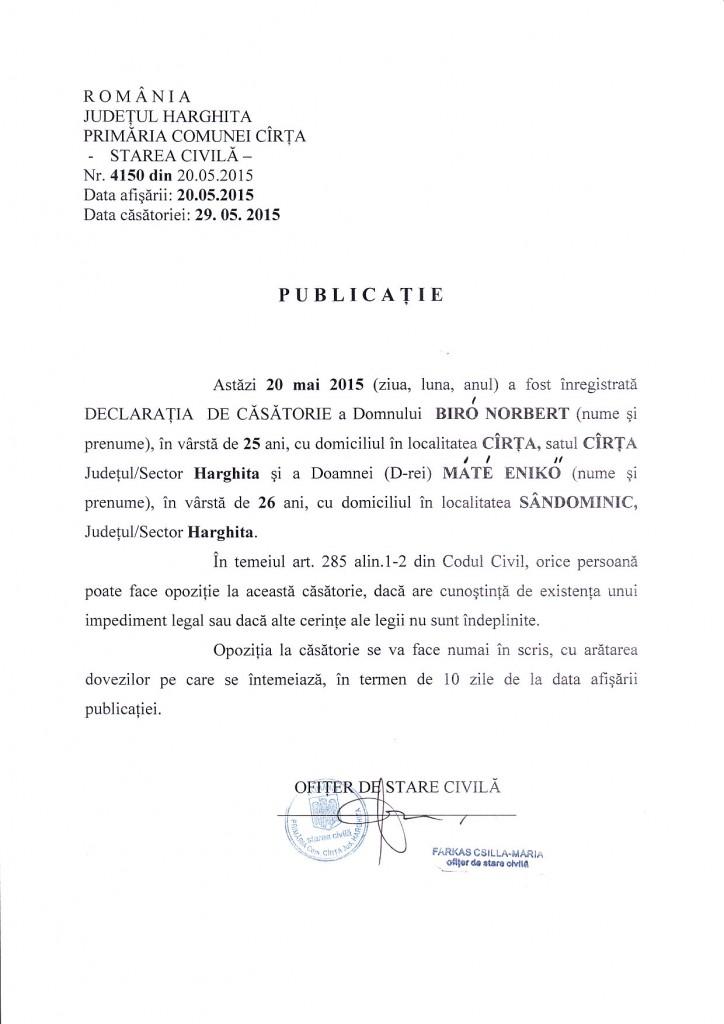 Publicatie 20.05.2015