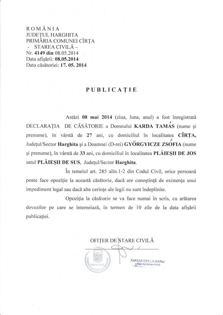 Publicatie 08.05.2014